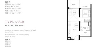 the-garden-residences-floor-plan-1+study-A3S
