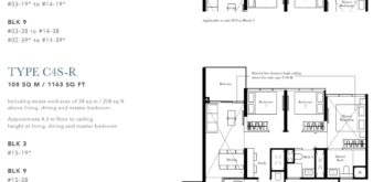 the-garden-residences-floor-plan-3+study-C4S