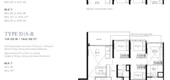 the-garden-residences-floor-plan-4+study-D1S