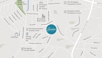 thegarden-residences-location-map